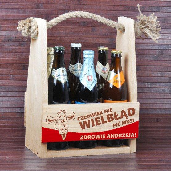 """Nosidełko na piwo """"Wielbłąd"""""""