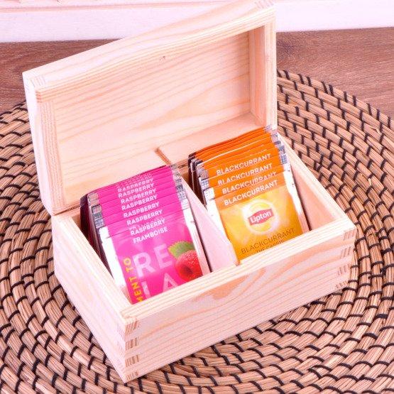 Pudełko z herbatą Lipton - Szczególni Dziadkowie