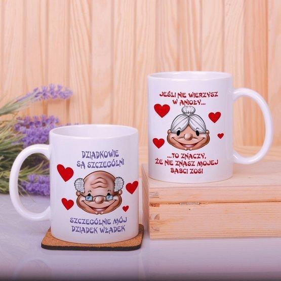 Dwa kubki- Babcia anioł i szczególny dziadek