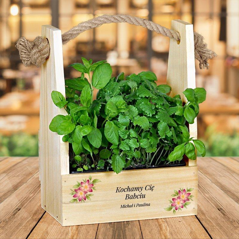 Mini ogródek dla Babci - Kochamy Cię Babciu