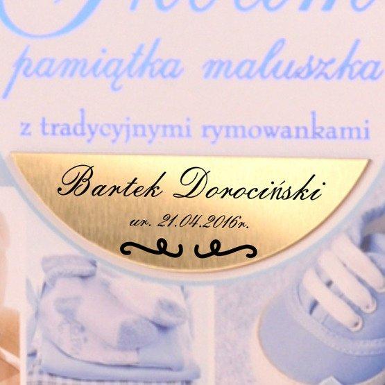 """Album """"Pamiątka maluszka""""- dla chłopca"""