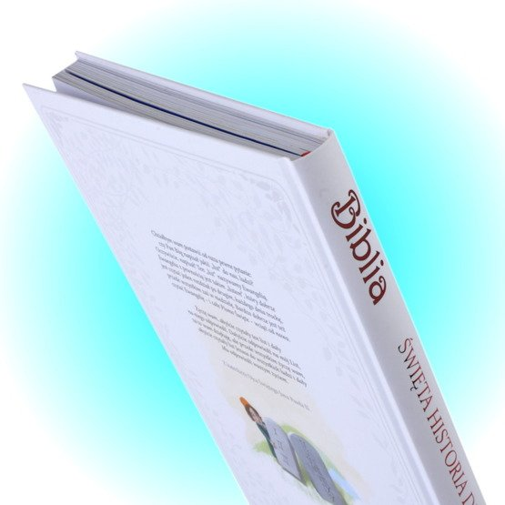 Biblia- Pamiątka I Komunii Świętej- krzyż