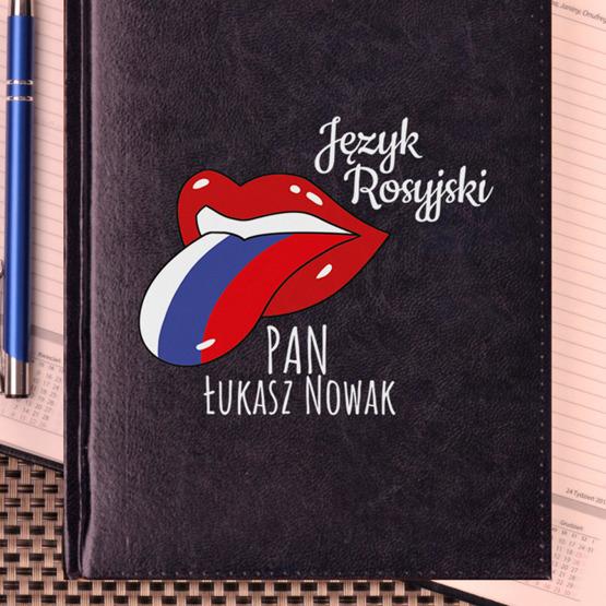 Kalendarz z nadrukiem dla nauczyciela-język rosyjski