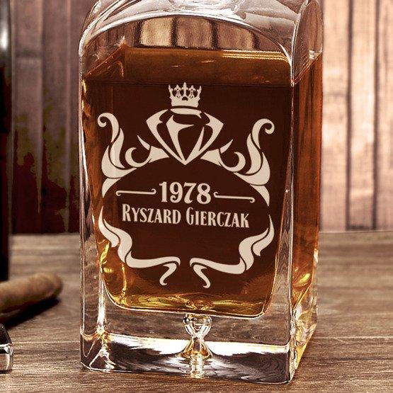"Karafka do whisky ""Diament"""