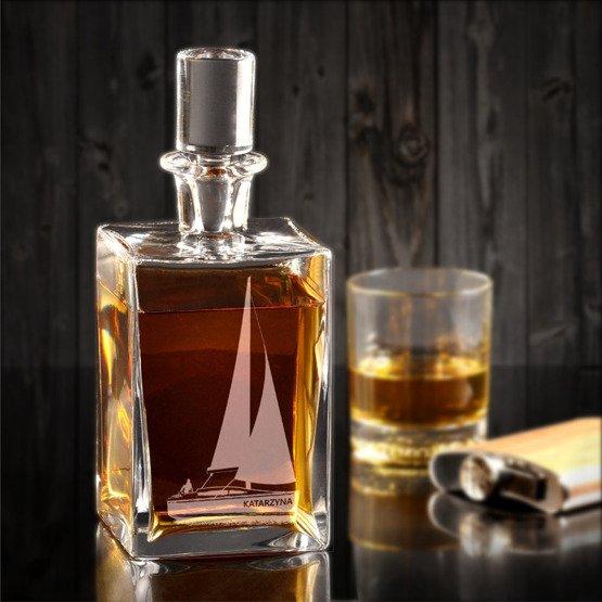 Karafka do whisky- dla żeglarza