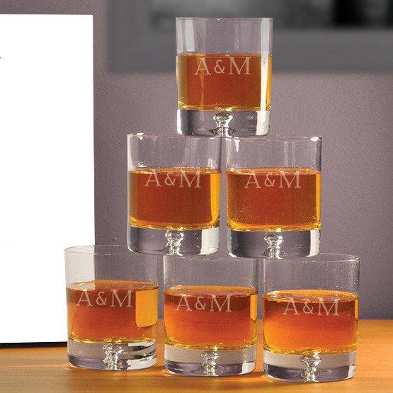 """Komplet szklanek w pudełku z nadrukiem- """"Łabędzie"""""""