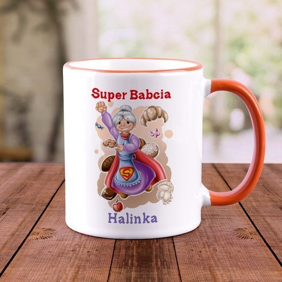 "Kubek ""Super Babcia"""