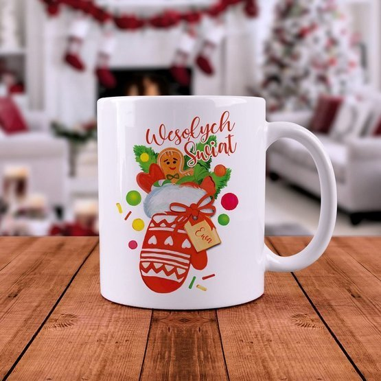 Kubek Świąteczny - Wesołych Świąt