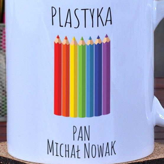 Kubek dla nauczyciela plastyki