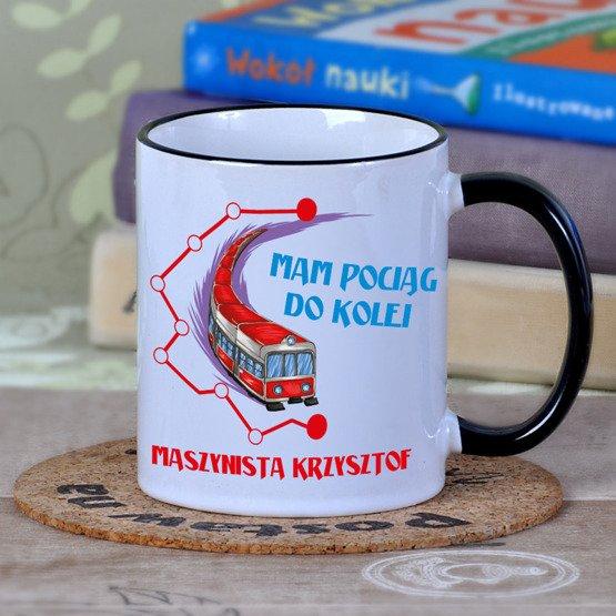 Kubek dla pracownika kolei