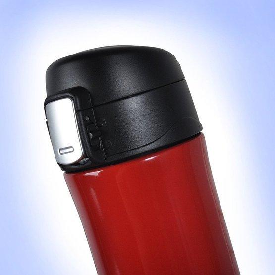 Kubek termiczny 450ml czerwony- kawa sprawia...