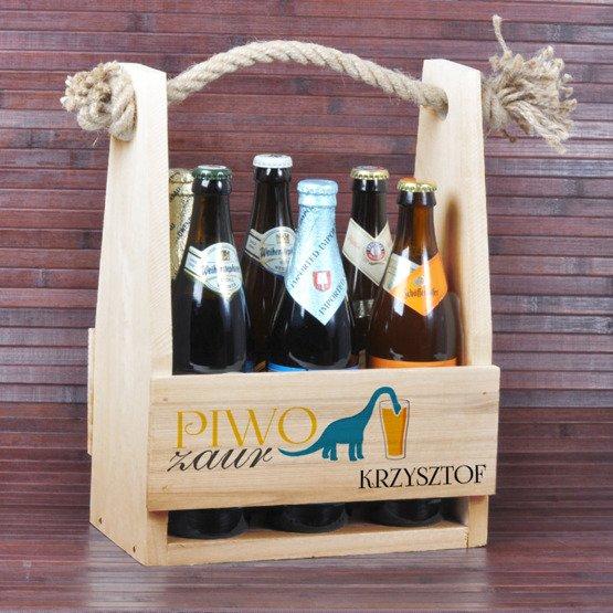 Nosidełko na piwo - PIWOzaur