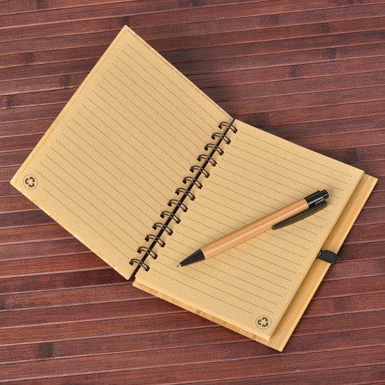 """Notes bambusowy """"Przepisy warte zapamiętania"""""""