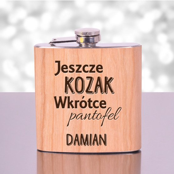 """Piersiówka na Wieczór Kawalerski- """"Jeszcze kozak..."""""""
