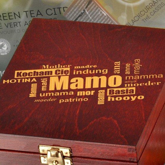 "Pudełko z herbatą Lipton ""Kocham Cię Mamo"""