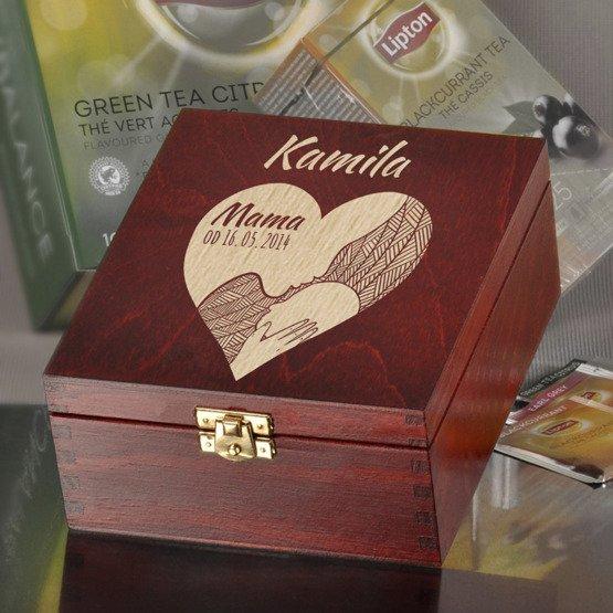Pudełko z herbatą Lipton - Mama