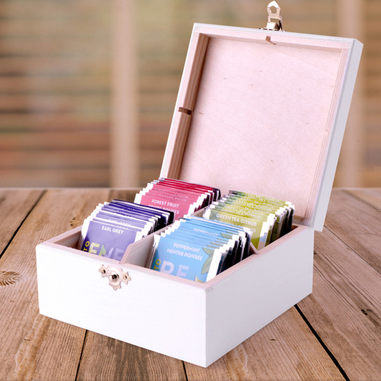 Pudełko z herbatą Lipton - Skarby babci
