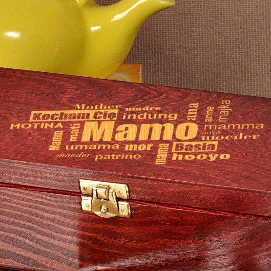 Pudełko z herbatą Lipton- dla Mamy