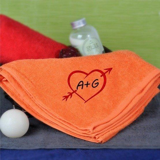 Ręcznik 70x140cm, dla zakochanych