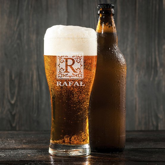 Szklanka do piwa - Monogram