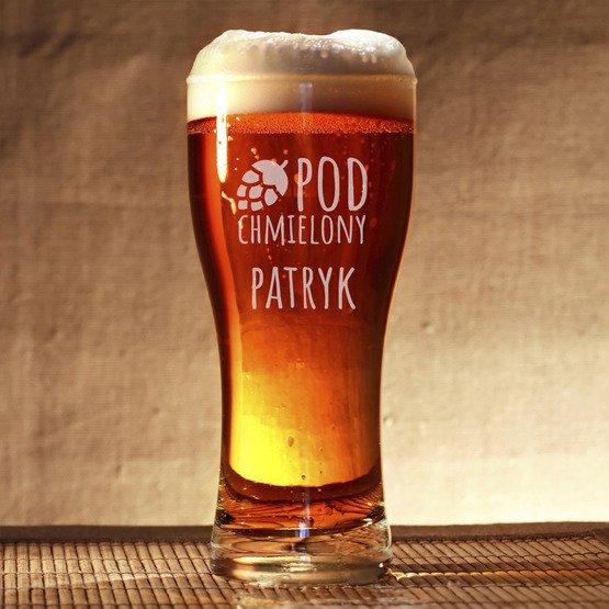 Szklanka do piwa - Pod chmielony