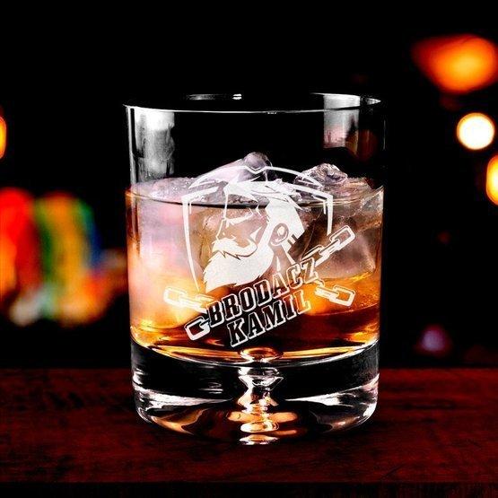 Szklanka do whisky dla Brodacza