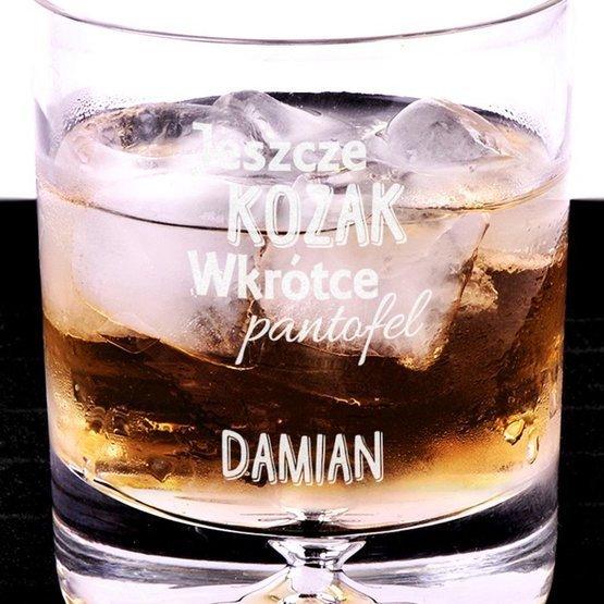 Szklanka do whisky dla przyszłego Pana Młodego - Jeszcze kozak