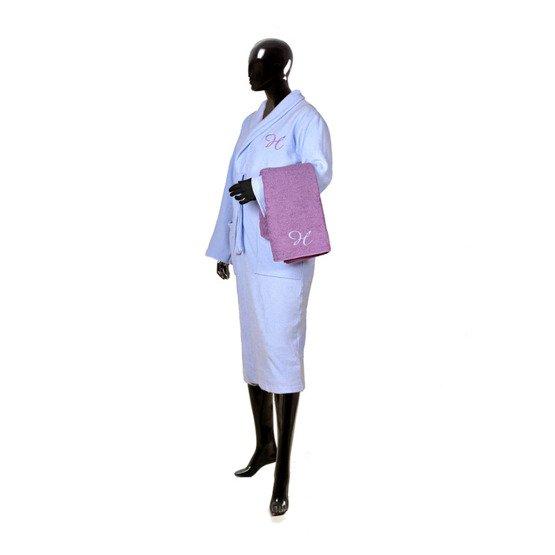"""Szlafrok damski + ręcznik kąpielowy """"Monogramy"""""""