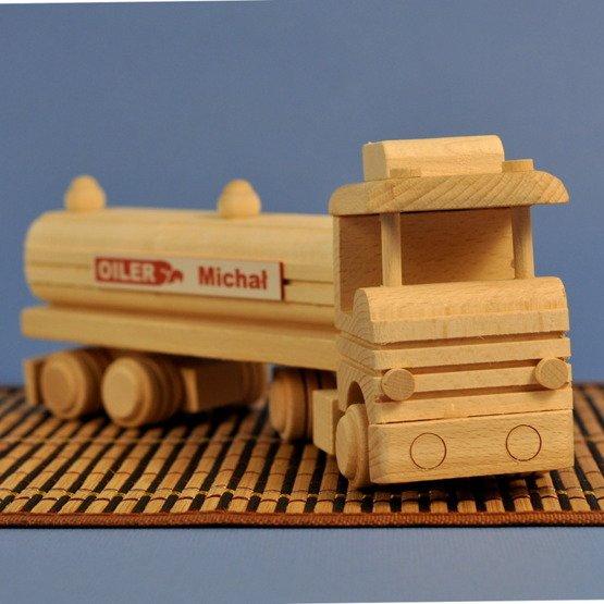 Zabawka drewniana- Cysterna