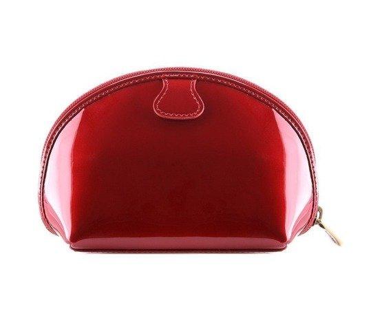Zestaw prezentowy damski WITTCHEN XI - czerwona kosmetyczka + granatowy szal