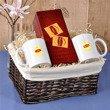 Koszyk prezentowy- herbaciany
