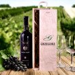 Pudełko na wino z monogramem